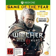 XboxOne The Witcher 3 Game of The Year