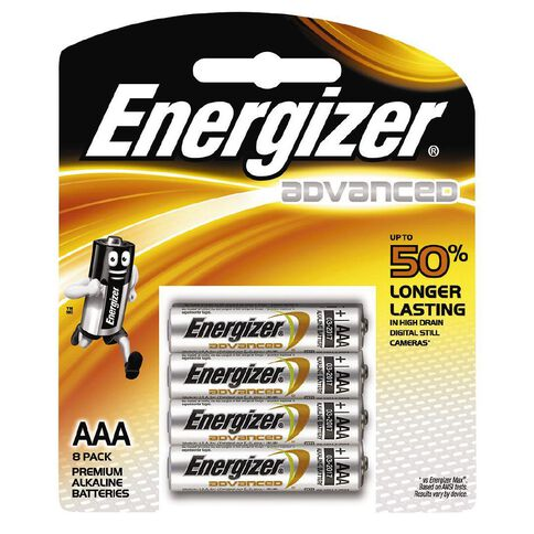 Energizer Advanced Battery AAA 8 Pack