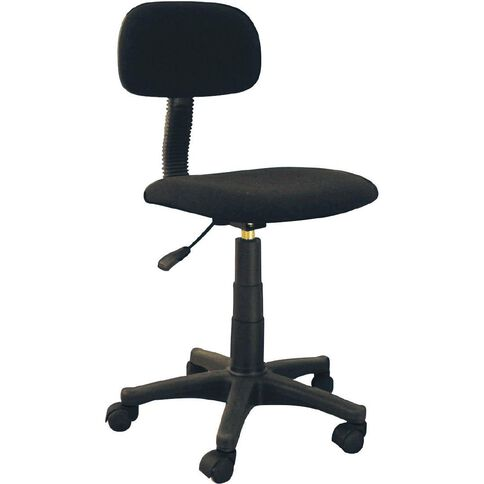 Necessities Brand Low Back Chair Black