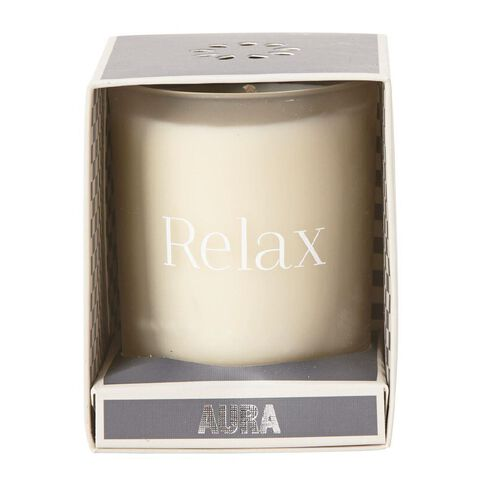 Aura Jar Candle Relaxing Incense 6oz