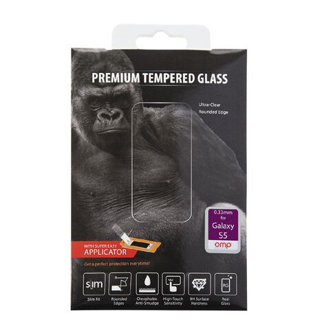 OMP Glass Screen Protector Samsung S5