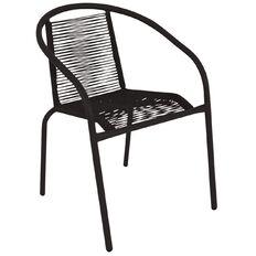 Living & Co Bucatini Bistro Chair Black