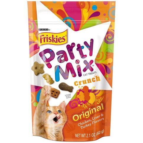 Friskies Party Mix Original Crunch Cat Treat 60g
