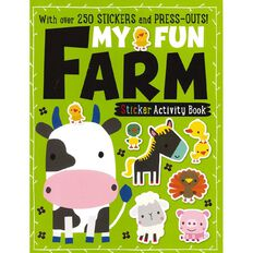 My Fun Farm Sticker Activity Books
