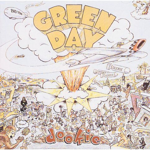 Dookie CD by Green Day 1Disc