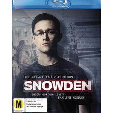 Snowden Blu-ray 1Disc
