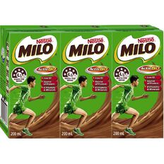 Nestle Milo Ready To Drink 200ml 3 Pack