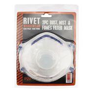 Rivet Filter Mask Set 2 Piece