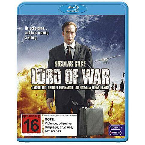 Lord Of War Blu-ray 1Disc