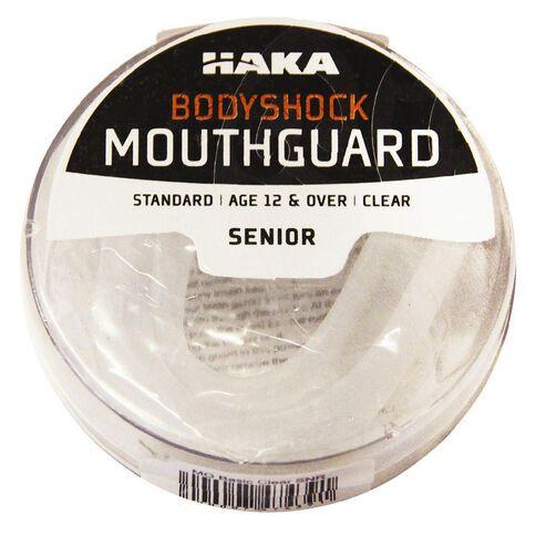Haka Mouth Guard Basic Clear Senior