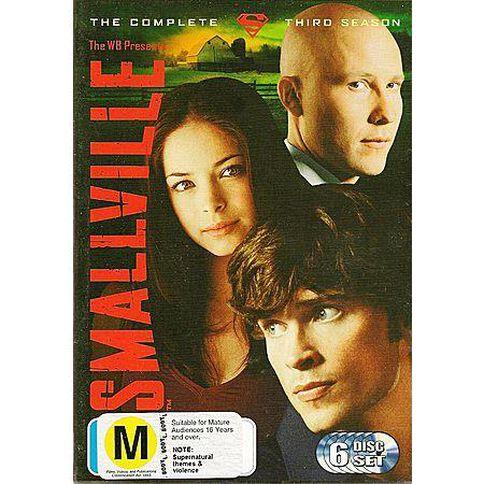 Smallville Season 3 DVD 6Disc
