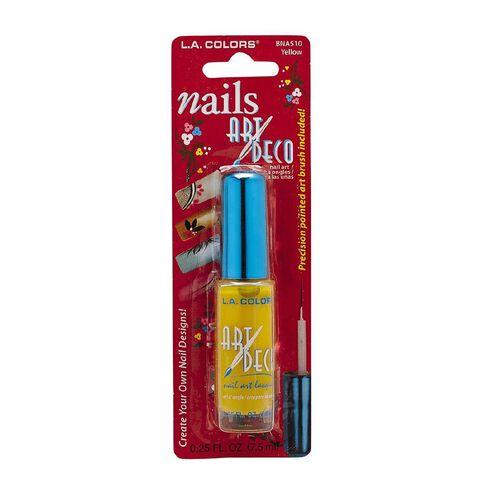 La Colors Nail Art Polish Baby Yellow