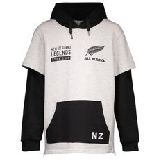 All Blacks Boys' Side Zip Sweatshirt