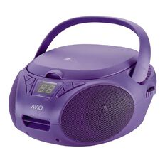 Avio CD Boombox Purple