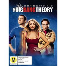 Big Bang Season 1 to 7 DVD 22Disc