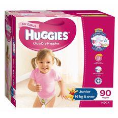 Huggies Junior Girl Mega 90 Pack