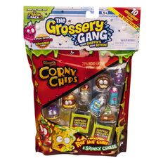Grossery Gang Chips 10 Pack Assorted