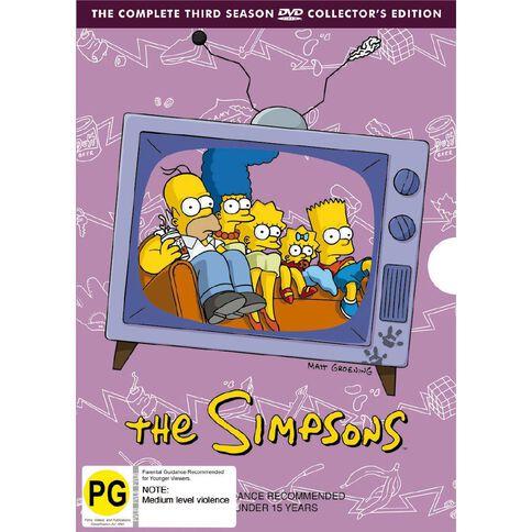 The Simpsons Season 3 DVD 4Disc