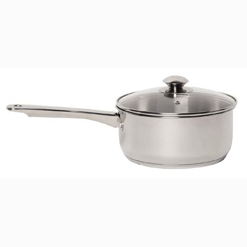 Harrison & Lane Stainless Steel Saucepan with Lid 20cm