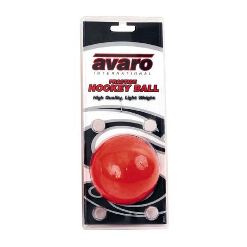 Avaro Hockey Ball Practice Orange