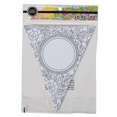 Craft Smith Colouring Banner Night Catcher Black & White 10 Piece
