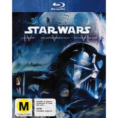 Star Wars Original Trilogy Blu-ray 3Disc