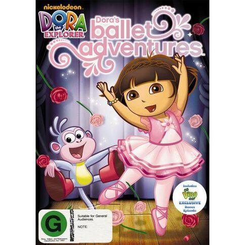 Dora The Explorer Doras Ballet Adventure DVD 1Disc