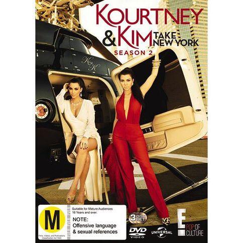 Kourtney And Kim Take New York Season 2 DVD 2Disc