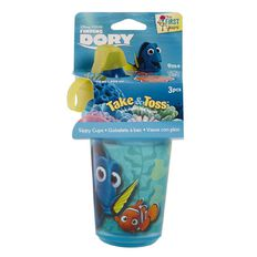 Finding Dory Disney Take and Toss Sippy Cup 3 Pack