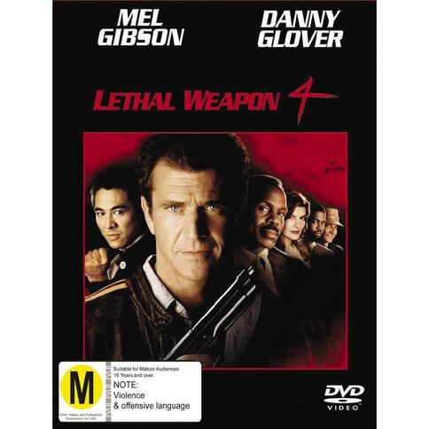 Leathal Weapon 4 DVD 1Disc