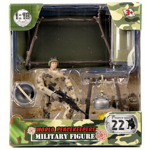 World Peacekeepers Military Figures Assorted