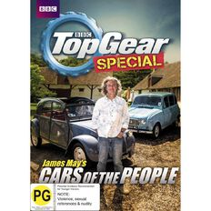 James Mays Cars Of The People To A Top Gear Special DVD 1Disc