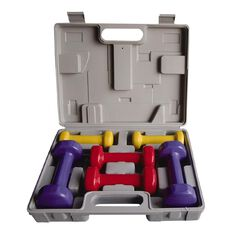 Active Intent Dumbbell Vinyl Dipped Set 6kg