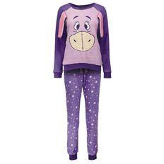 Disney Women's Eeyore Twosie Pyjamas