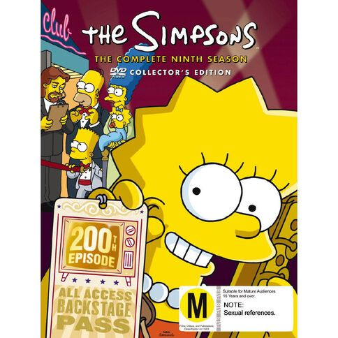 The Simpsons Season 9 DVD 4Disc