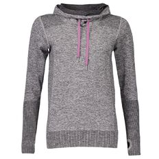 Active Intent Women's Seamless Roll Neck Sweatshirt