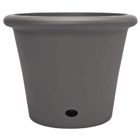 Decor Four Season Pot Pewter 400mm