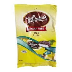 Whitman's Sugar Free Mint Patties Bag 85g