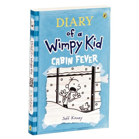 Diary Of A Wimpy Kid #6 Cabin Fever by Jeff Kinney