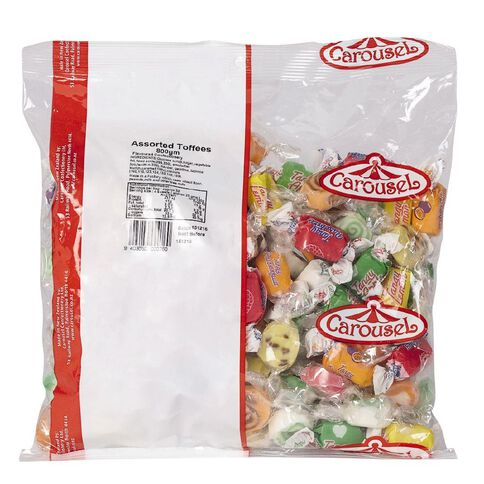 Carousel Assortment of Toffees 800g
