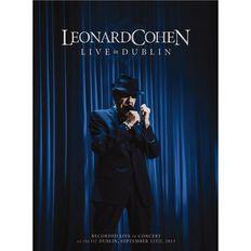 Leonard Cohen Live In Dublin DVD 1Disc