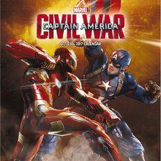 Avengers Calendar 2017 Assemble Square Wall