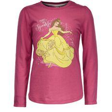 Disney Princess Girls' Long Sleeve Belle Tee