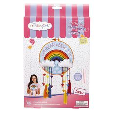 My Studio Girl Embroidery Hoop Art Kit Rainbow