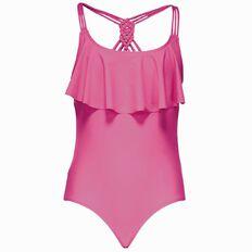 Beach Works Girls' Flounce Swimsuit