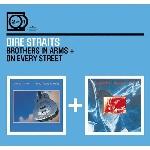2 for 1 Brothers in Arms/On Every Street CD by Dire Straits 2Disc