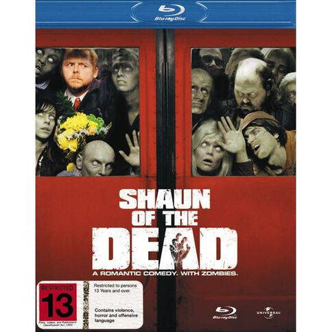 Shaun Of The Dead Blu-ray 1Disc