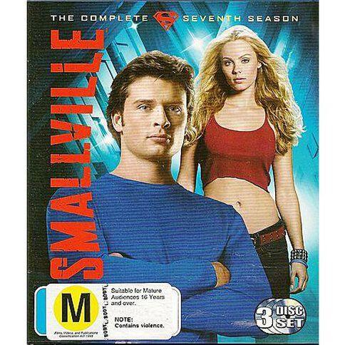 Smallville: Season 7 3 Blu-ray Discs