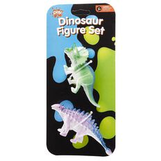 Play Studio Dinosaur Figure Set 2 Piece