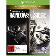 XboxOne Rainbow Six Siege Gold Edition